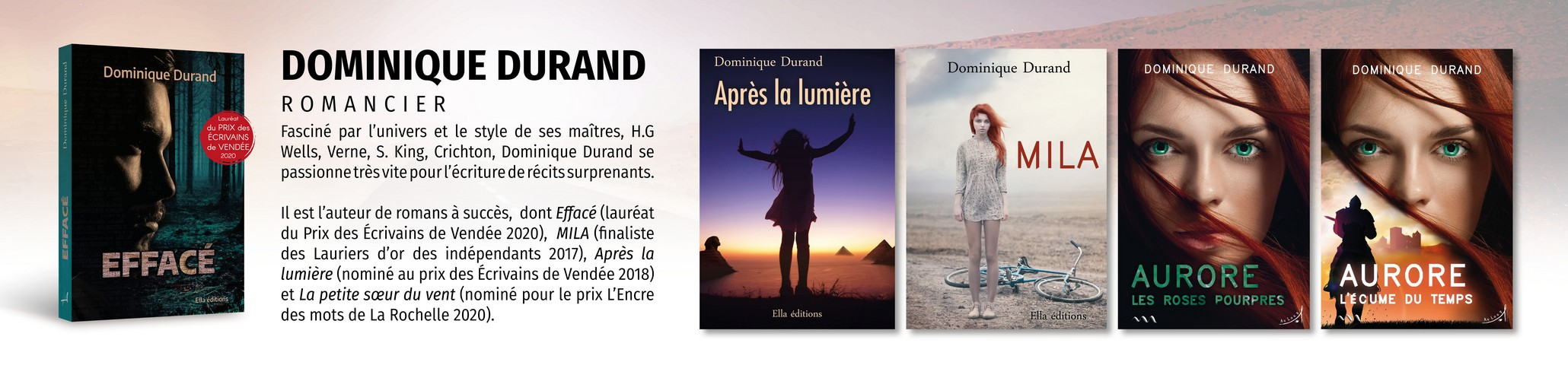 Banniere Dominique Durand Romancier
